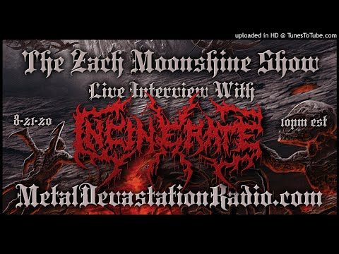 Incinerate - Interview 2020 - The Zach Moonshine Show