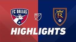 FC Dallas vs. Real Salt Lake | HIGHLIGHTS - July 27, 2019