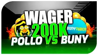 FIFA 16 | WAGER 200.000 MONEDAS | Ultimate Team | PoLLo Vs Buny