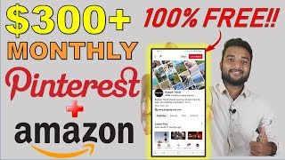 Make $300 Monthly on Pinterest with Affiliate Marketing - Get Traffic + Followers