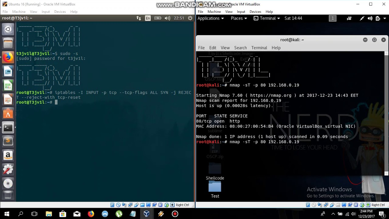 How to bypass firewall in ubuntu