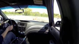 Autocross at Ralph Wilson Stadium, 5/18/14, Subaru STi