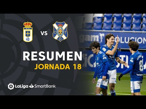 Oviedo Tenerife Goals And Highlights