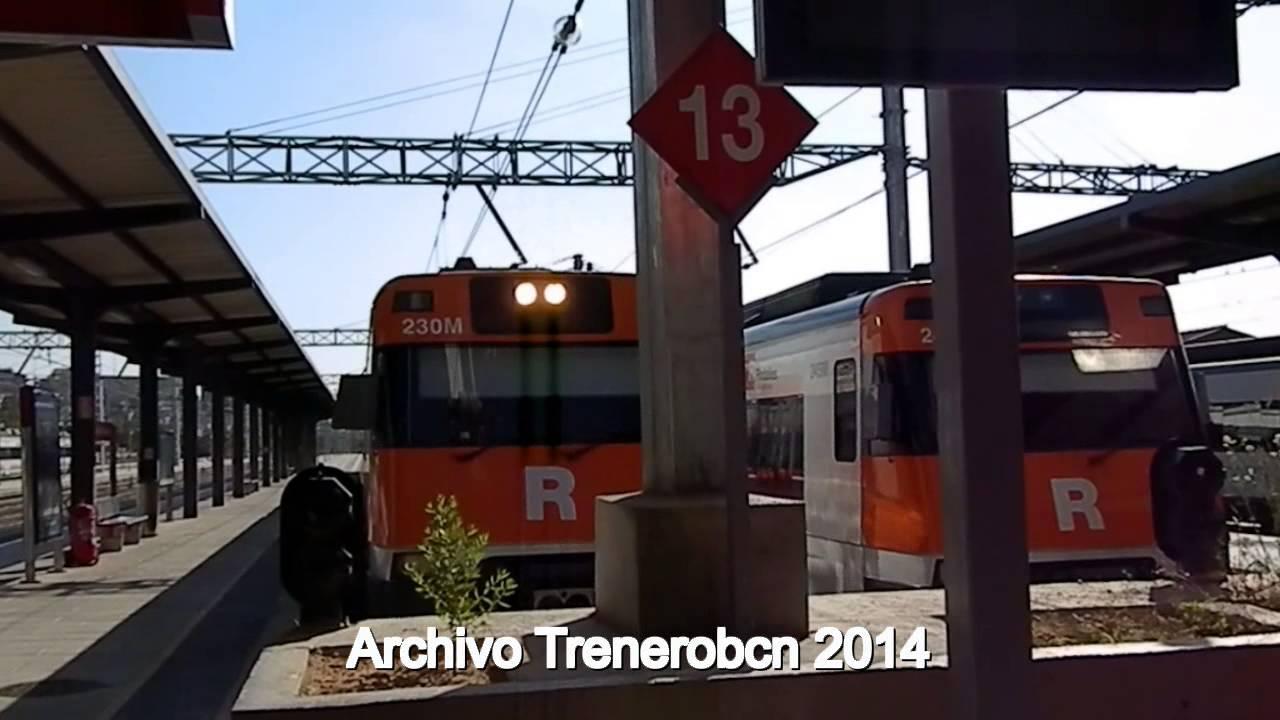 R1 R3 R4 Estacion De L Hospitalet De Llobregat Youtube