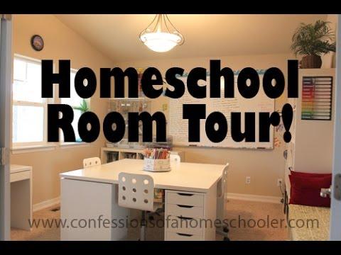 Updated Homeschool Room Tour Youtube