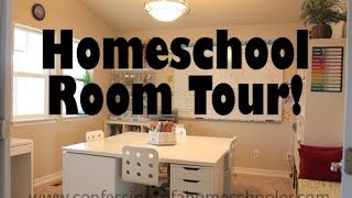 Updated Homeschool Room Tour! Thumbnail
