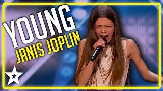 Judges Couldn't Believe Her Voice on America's Got Talent | Kids Got Talent