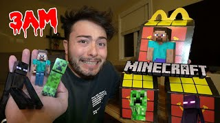DO NOT ORDER MINECRAFT HAPPY MEAL FROM MCDONALDS AT 3 AM!! (THEY SPAWNED)