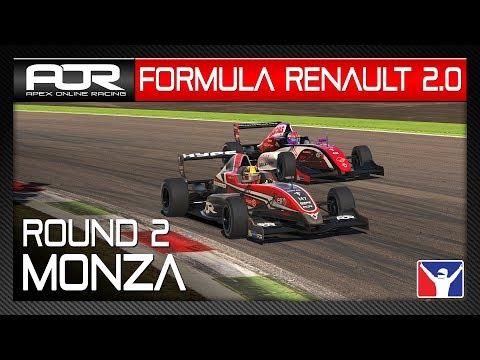 iRacing | AOR Formula Renault 2.0 | S10 | R2: Monza