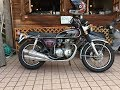 Lifetime active service?One owner?1973 HONDA DREAM CB500FOUR?HONDA CB500F?1973 ????????CB500FOUR