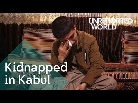 Kidnapping gangs taking children in Kabul | Unreported World thumbnail