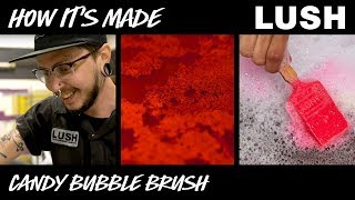 Lush How It's Made: Candy Bubble Brush Reusable Bubble Bar (2018)