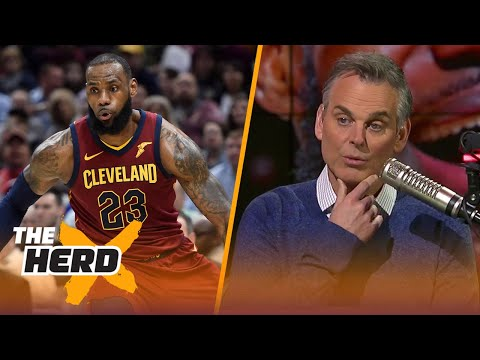 Colin Cowherd reacts to LeBron becoming the first with 30k pts, 8k rebs, 8k ast | THE HERD