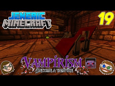 """JenEric Minecraft: -  DOUBLE CROSSBOW ALL THE WAY! Vampirism """"Hunters"""" (S2Ep19)"""
