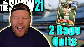 NEW LEGEND 95 Frank Tanana Debuts... 2 RAGE QUITS In MLB The Show 21!!