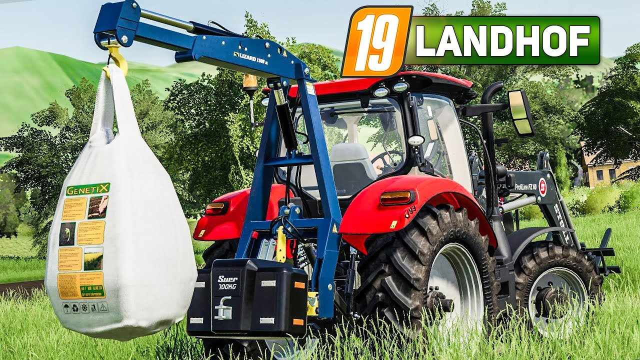 ls 19 landhof 4 spezial kran f r saatgut beutel. Black Bedroom Furniture Sets. Home Design Ideas
