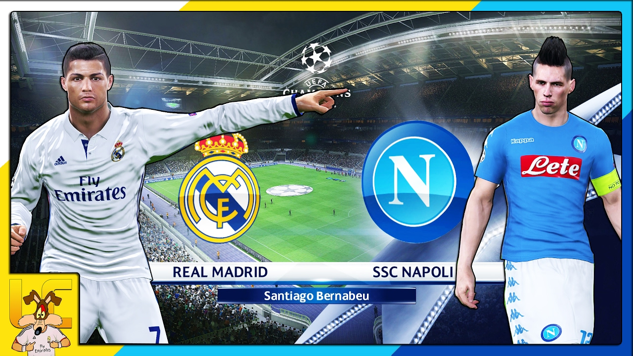 Real Madrid Vs Neapel