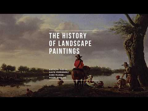 The History of Landscape Paintings
