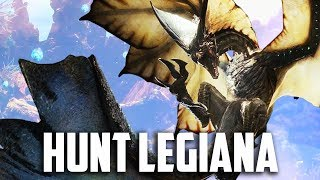 HUNT LEGIANA! Monster Hunter World Gameplay Part 14 - FULL GAME Walkthrough Part 14 (PS4 PRO)