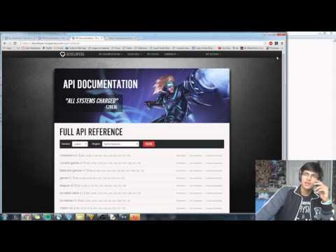 Learn to use Riot's API in 15 Minutes...