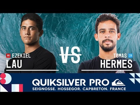 Lau vs. Hermes - Round Two, Heat 11 - Quiksilver Pro France 2018