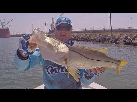 FOX Sports Outdoors SouthWEST #30 South Padre Island Texas Snook Fishing