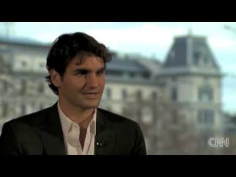 Roger Federer CNN World Sport 2009 Interview