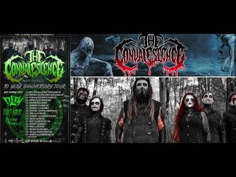 The Convalescence 2021 summer tour with Filth, Casket Robbery and Blood Of Angels