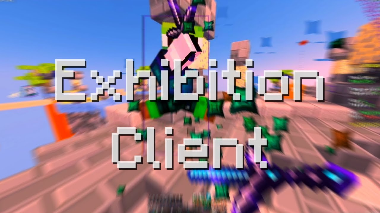 Vibing with Exhibition Client on Hypixel Skywars