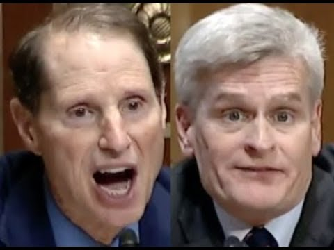 """THE FACTS ARE THE FACTS!!!"" Ron Wyden BRILLIANTLY DESTROYS Bill Cassidy & Trumpcare"