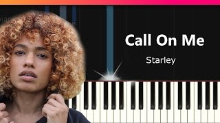 "Starley - ""Call On Me"" Piano Tutorial - Chords - How To Play - Cover"