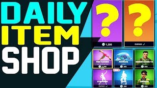 Fortnite Daily Item Shop July 17 NEW ITEMS & FEATURES Skin Raptor and Abstrakt Season 5