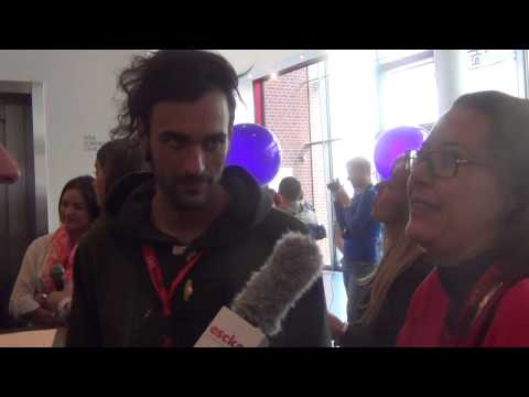 ESCKAZ in Amsterdam: Interview with Marco Mengoni (Italy)