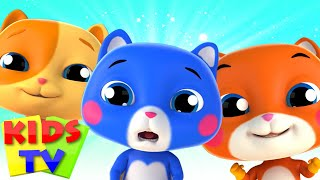 Three Little Kittens | Bob The Train | Kids Tv Nursery Rhymes | Cartoon