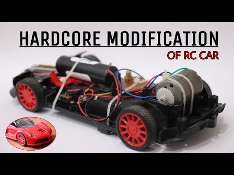 RC car modification | with upgraded engine and power source