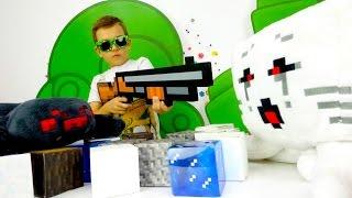 Секреты игры Майнкрафт - Кто в Minecraft сильней Гаст или Паук?