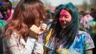 Holi Festival of Colors - Pittsburg State University