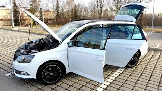 Walkaround New Škoda Fabia Combi Monte Carlo 2017