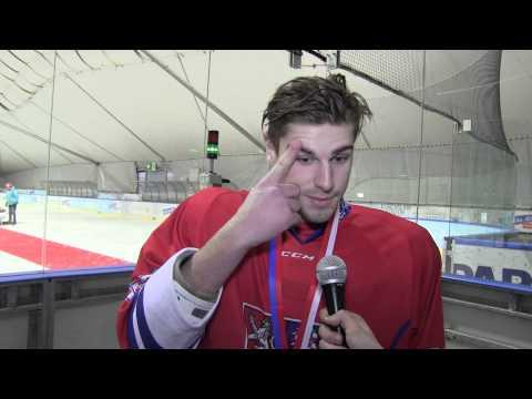 EYOF2015: Matouš Bělohorský po finálovém utkání s Rusy