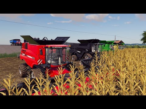 $10,000,000 FARM HARVEST | MEGA RANCH #3 | FARMING SIMULATOR 2019
