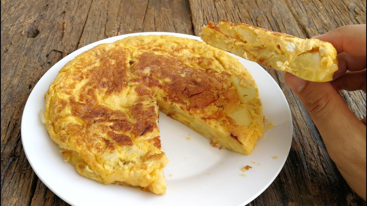 Ricetta Per Tortillas Spagnole.Tortilla Spagnola Ricetta Originale Youtube