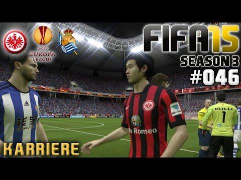 FIFA 15 KARRIERE SEASON 3 #046: Eintracht Frankfurt vs  Real Sociedad «» Let's Play FIFA