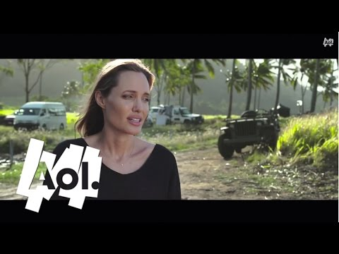 Angelina Jolie On Unbroken | AOL Exclusive