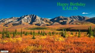 Kailin   Nature Birthday