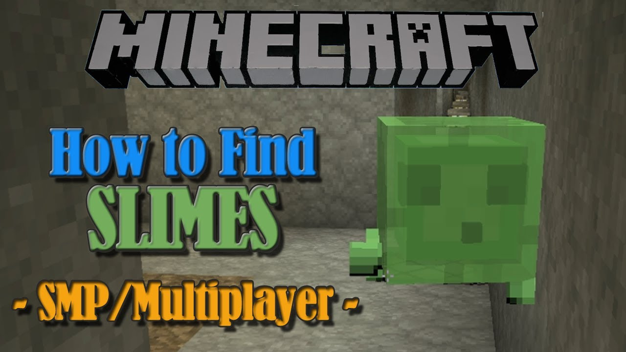 how to find slimes in minecraft