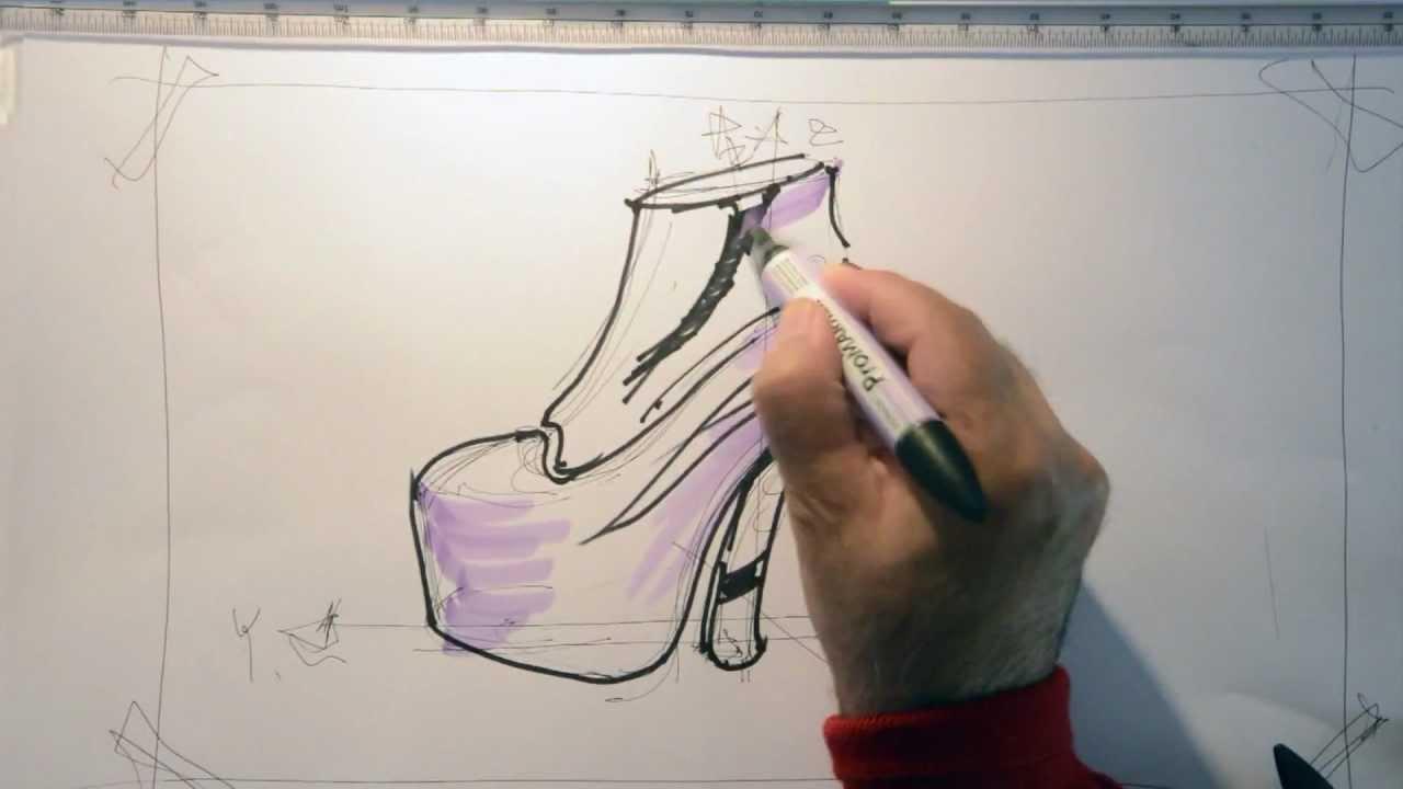 Fast Sketch Fashion Design - Lady Gaga's Style