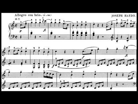 Haydn / Robert Riefling, 1960s: Sonata in C major Hob.XVI:35