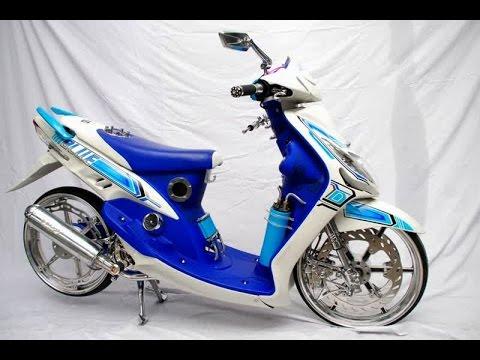 contoh modifikasi mio sporty terbaru 2013