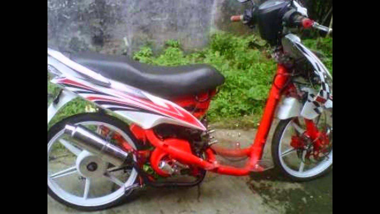 motor trend modifikasi | video modifikasi motor yamaha mio sporty