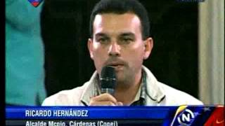 Ricardo Hernández, alcalde del municipio Cárdenas en Táchira
